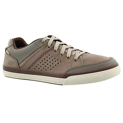 Skechers Men's DIAMONDBACK RENDOL taupe lace up sneakers