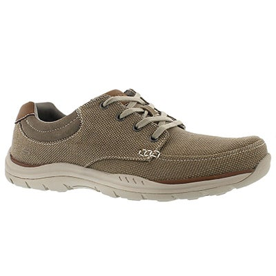 Skechers Men's EXPECTED ORMAN khaki sneakers