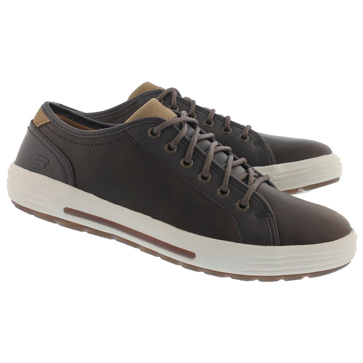 Mns Porter Ressen dk brn lace up sneaker