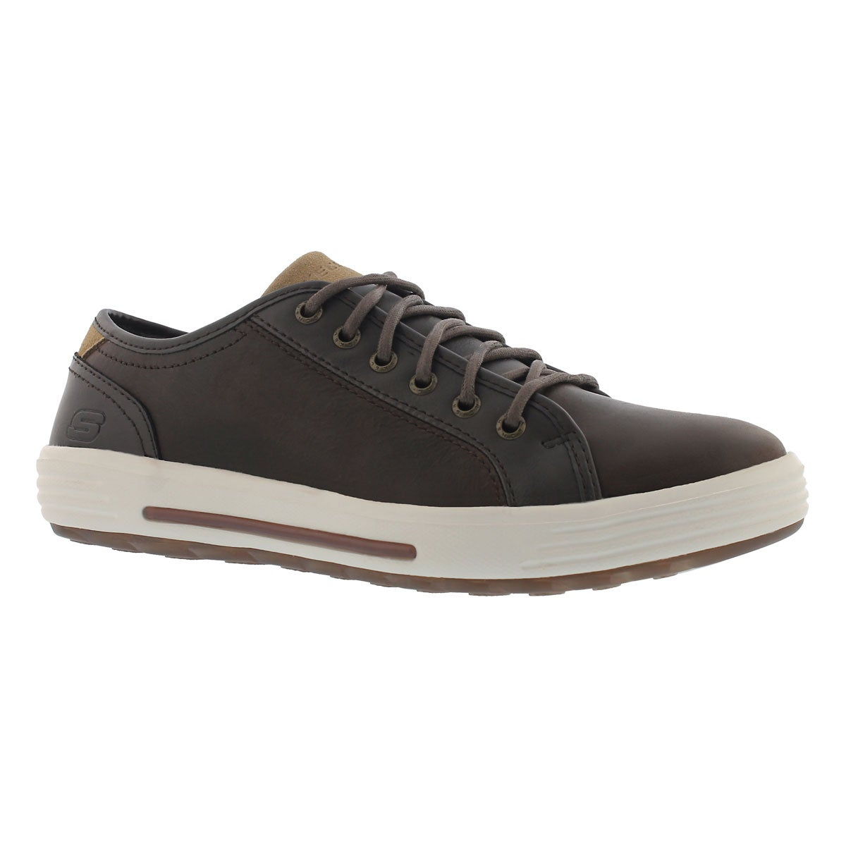 Men's PORTER RESSEN dark brown lace up sneaker