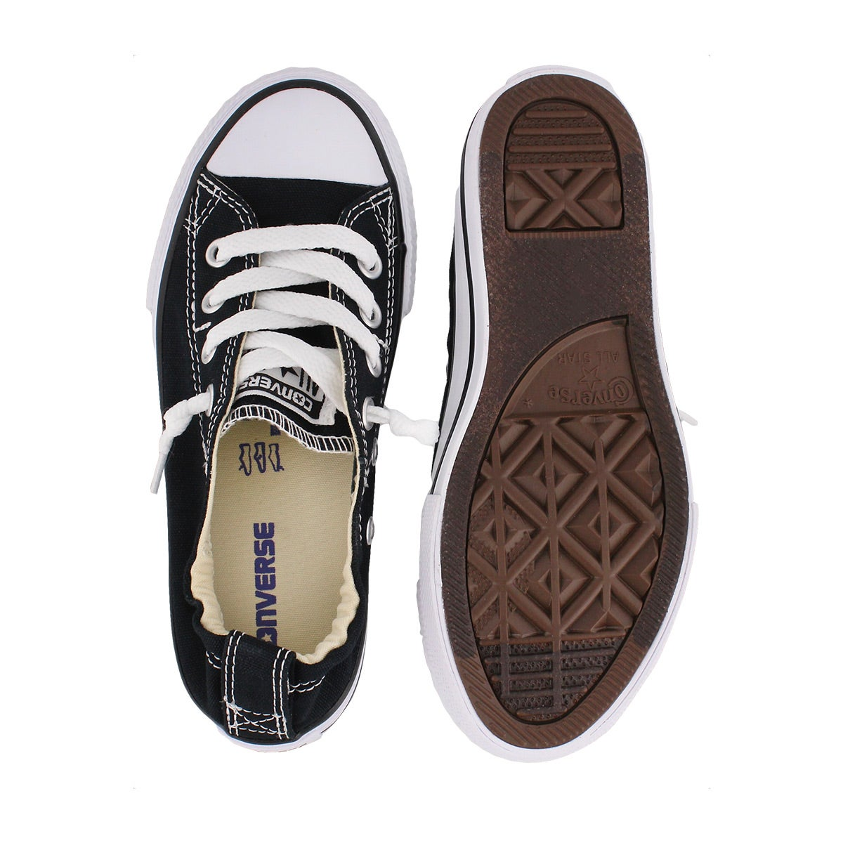 Grls Shoreline black sneaker