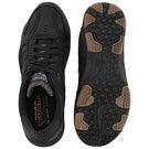 Mns Expected Gomel black slip on shoe