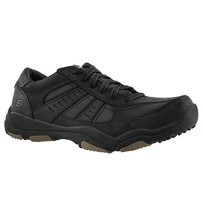 Skechers Men's LARSON NERICK black bike toe sneaker