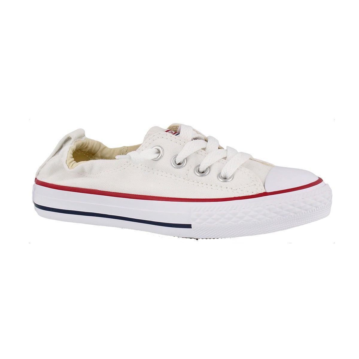 Girls' CT ALL STAR SHORELINE white sneaker