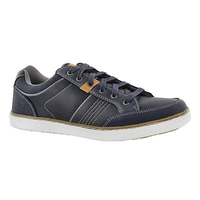 Mns Lanson Rometo navy lace up sneaker