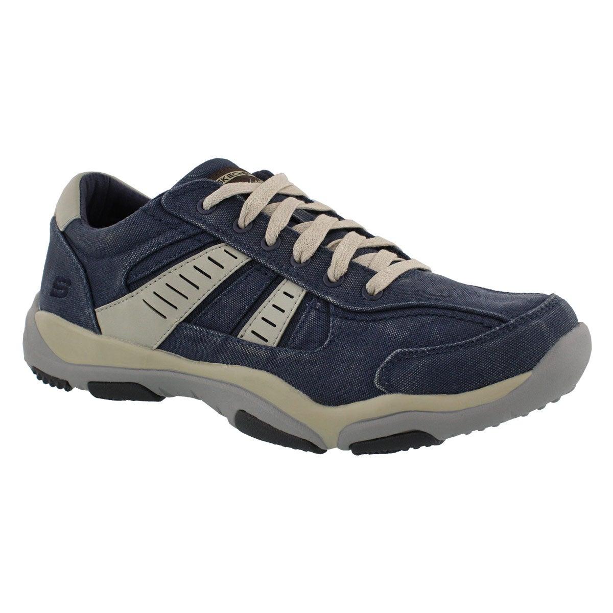 Men's LARSON MASSON navy slip on sneakers
