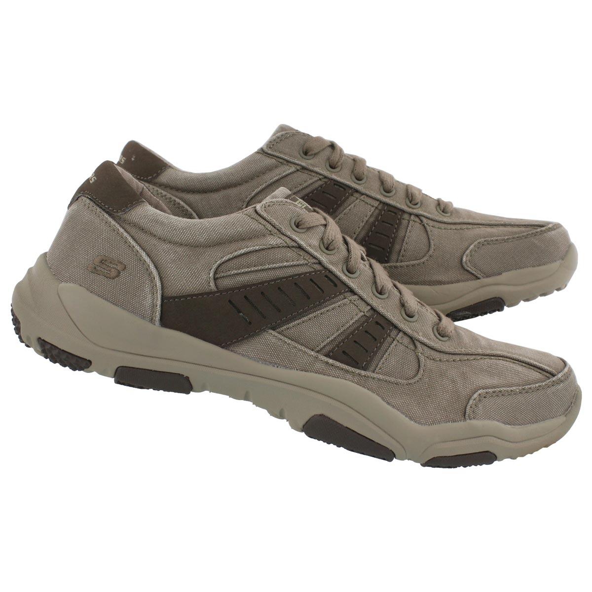 Mns Larson Masson taupe slip on sneaker