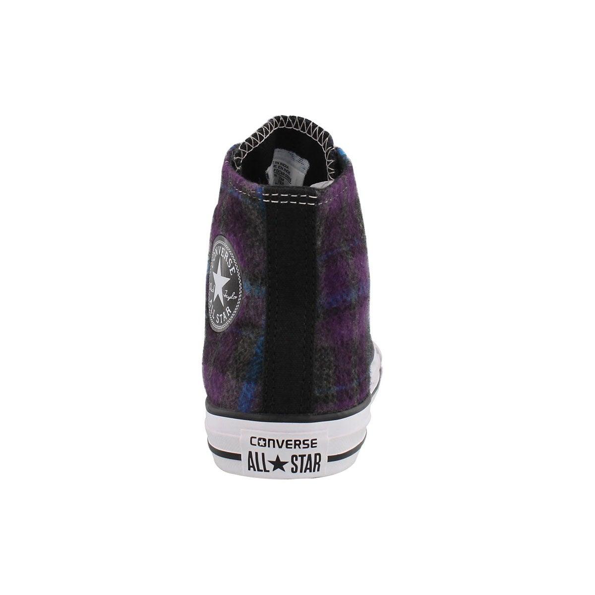 Grls CT Allium Hi Top ppl/cyan sneaker