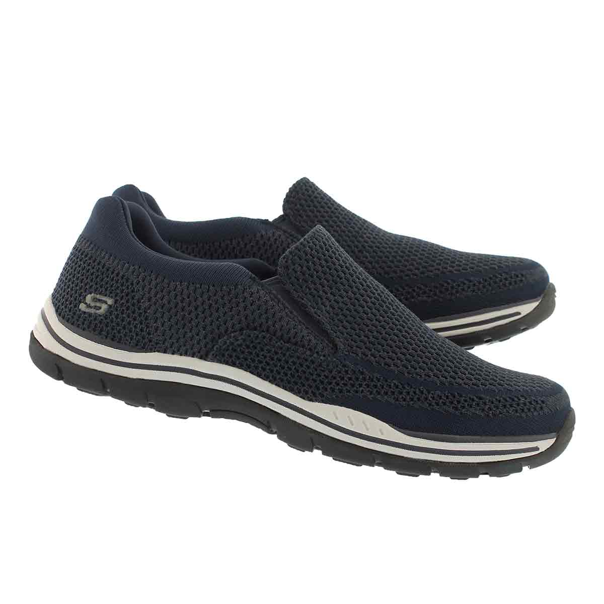 Mns Expected Gomel navy slip on shoe