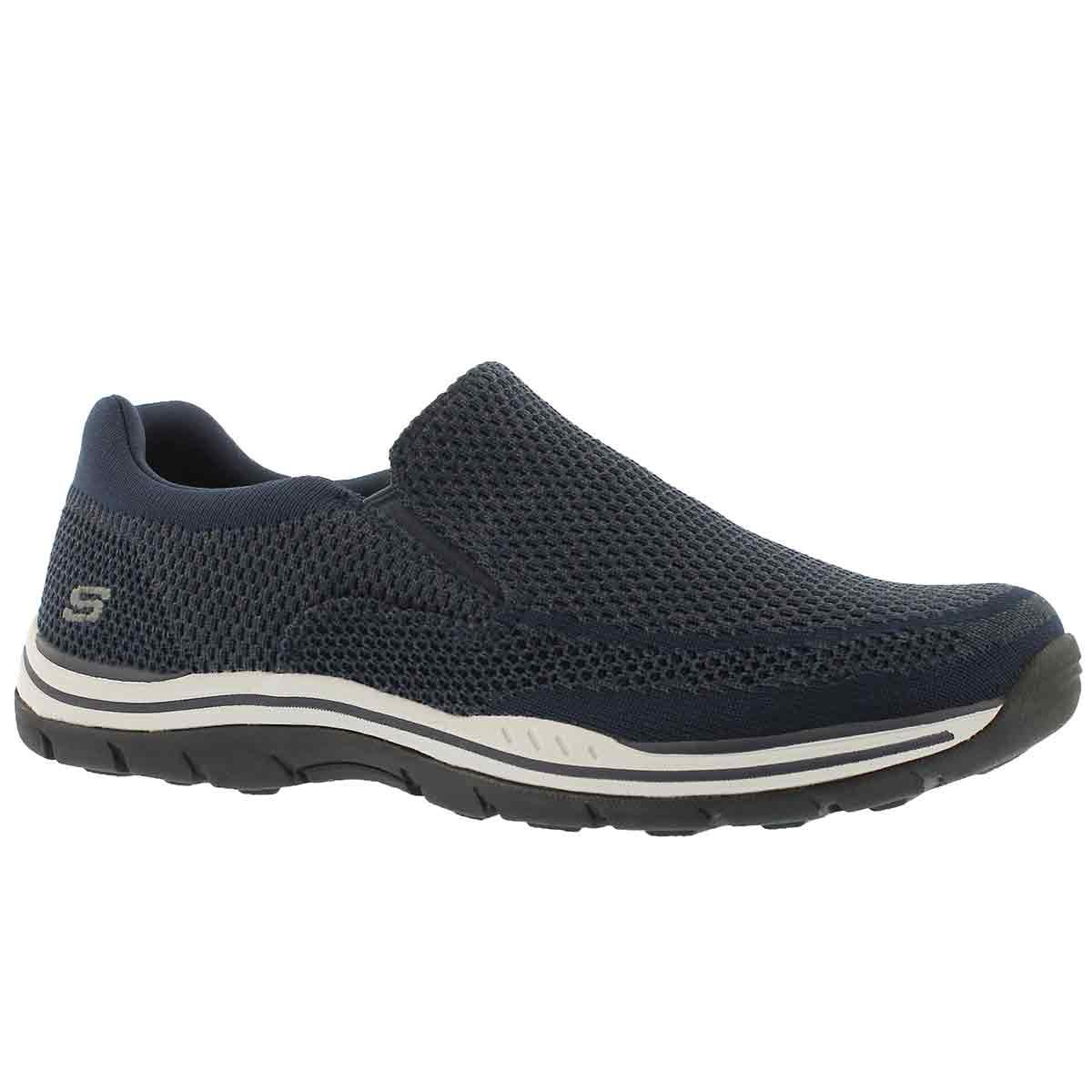 Skechers USA Men's Expected Gomel Slip-On Loafer, Navy, 7 M US