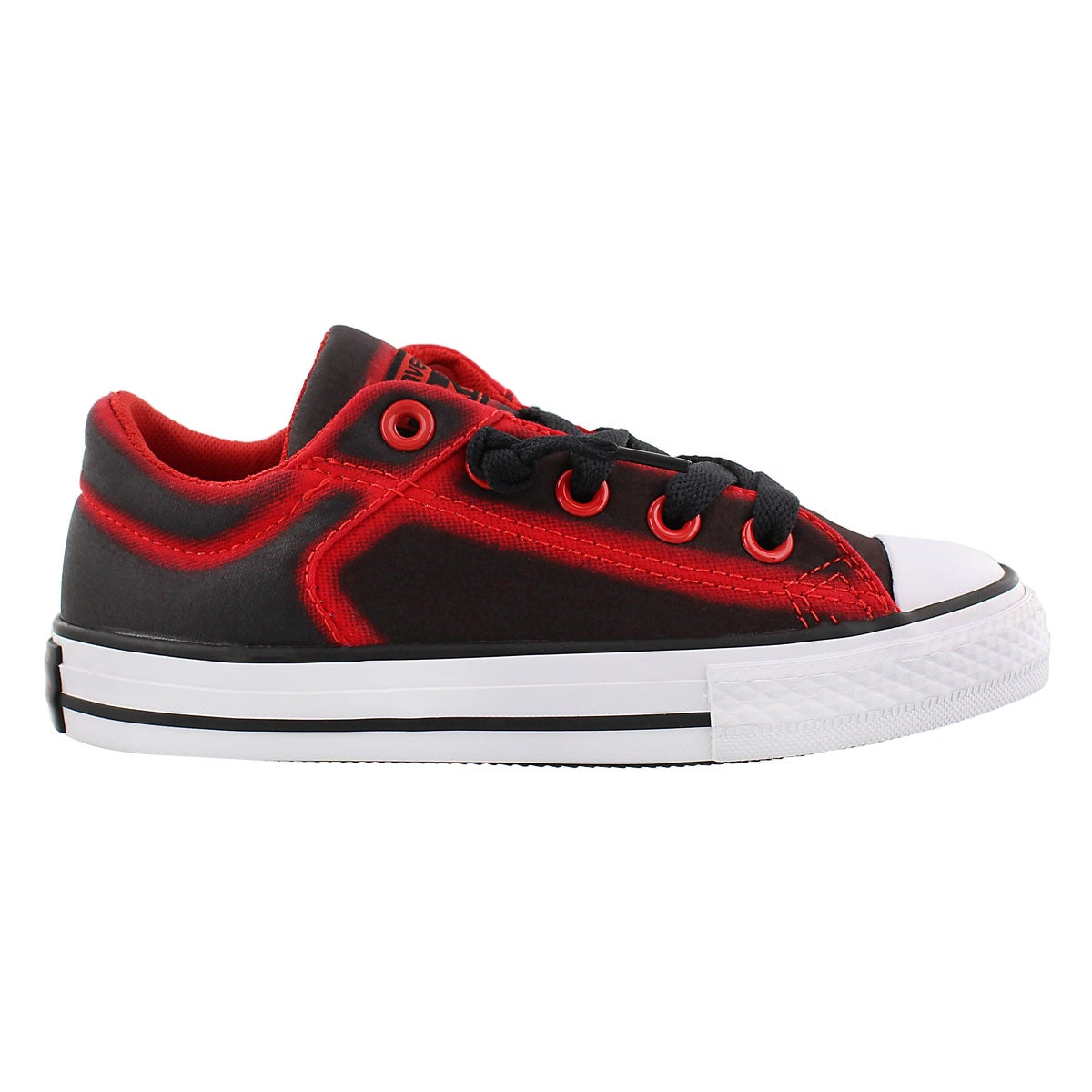 Bys HighStreetFlashlight blk/red snkr