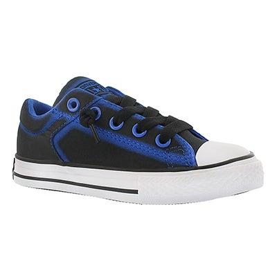 Converse Boys' HIGHSTREET FLASHLIGHT blk/blu sneakers
