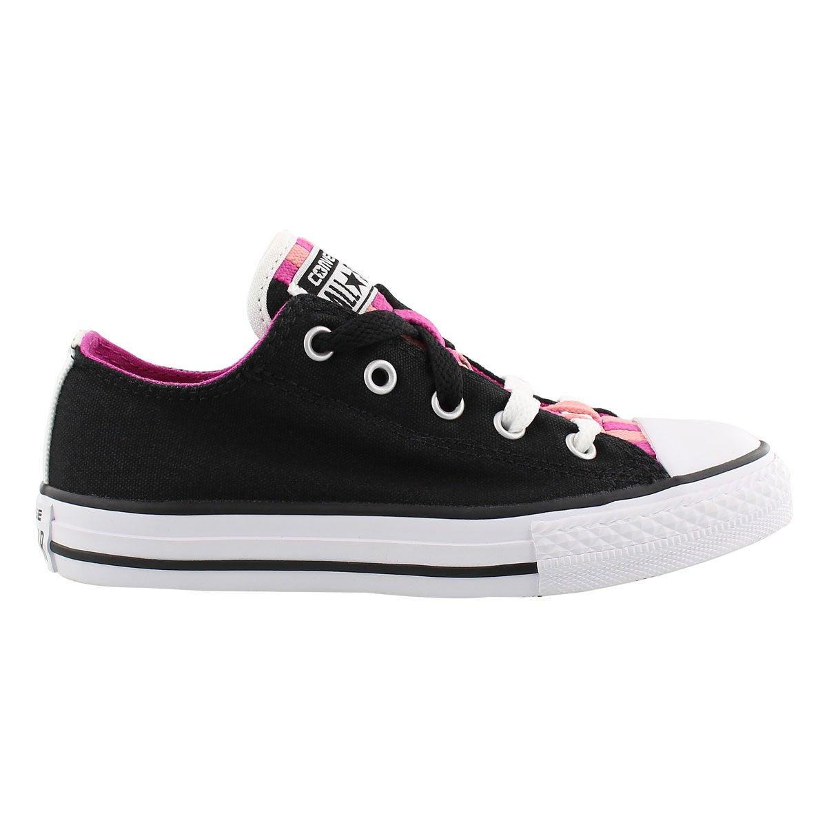 Grs CTAS Loopholes Canvas black sneaker