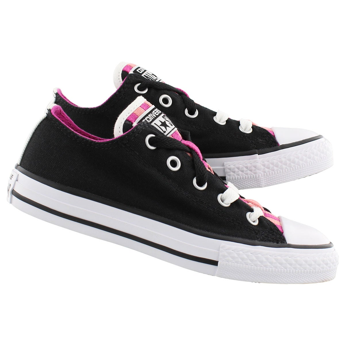 Grs CTAS Loopholes Canvas black sneaker