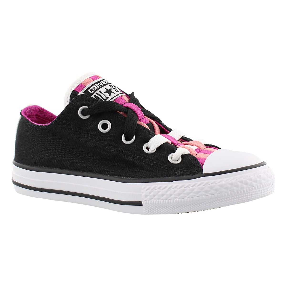 Girls' CT ALL STAR LOOPHOLES CANVAS blk sneakers