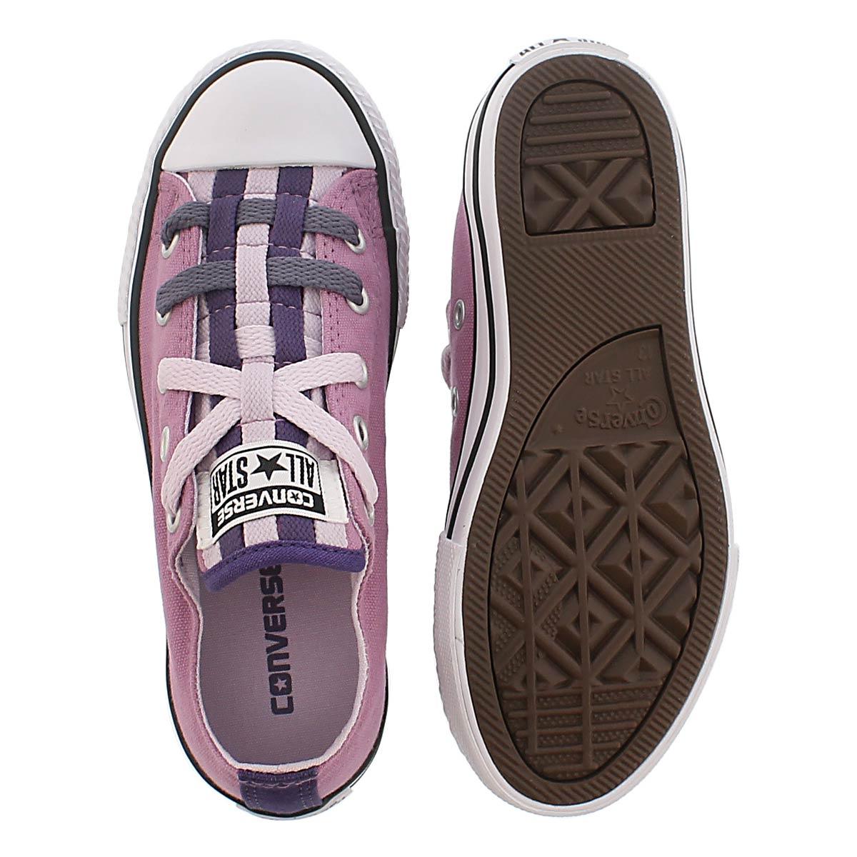 Grs CTAS Loopholes Canvas purple sneaker