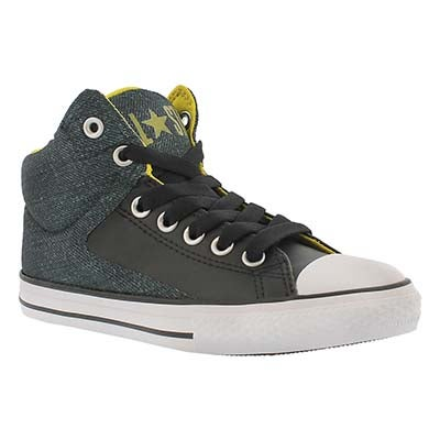 Bys CT AS High Street Pavement blk snkr