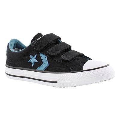 Converse Boys' CT STAR PLAYER EV 3V black sneakers