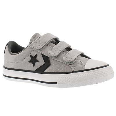 Converse Boys' CT STAR PLAYER EV V3 grey sneakers