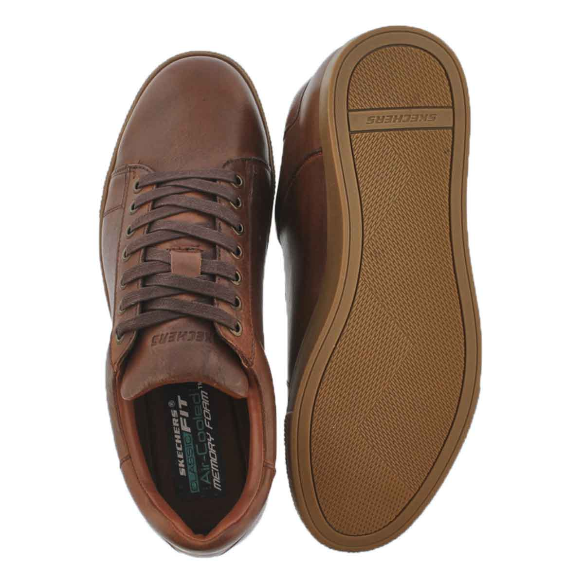 Mns Volden Fandom tan lace up sneaker