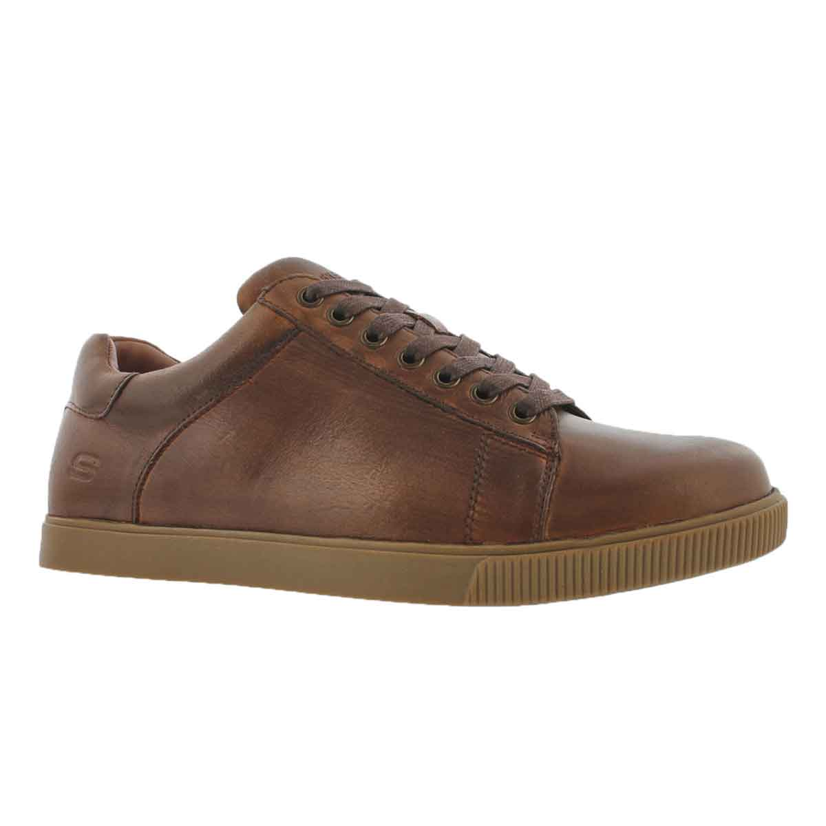 Men's VOLDEN FANDOM tan lace up sneakers