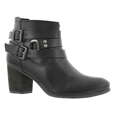 Lds Britney 02 black low dress bootie