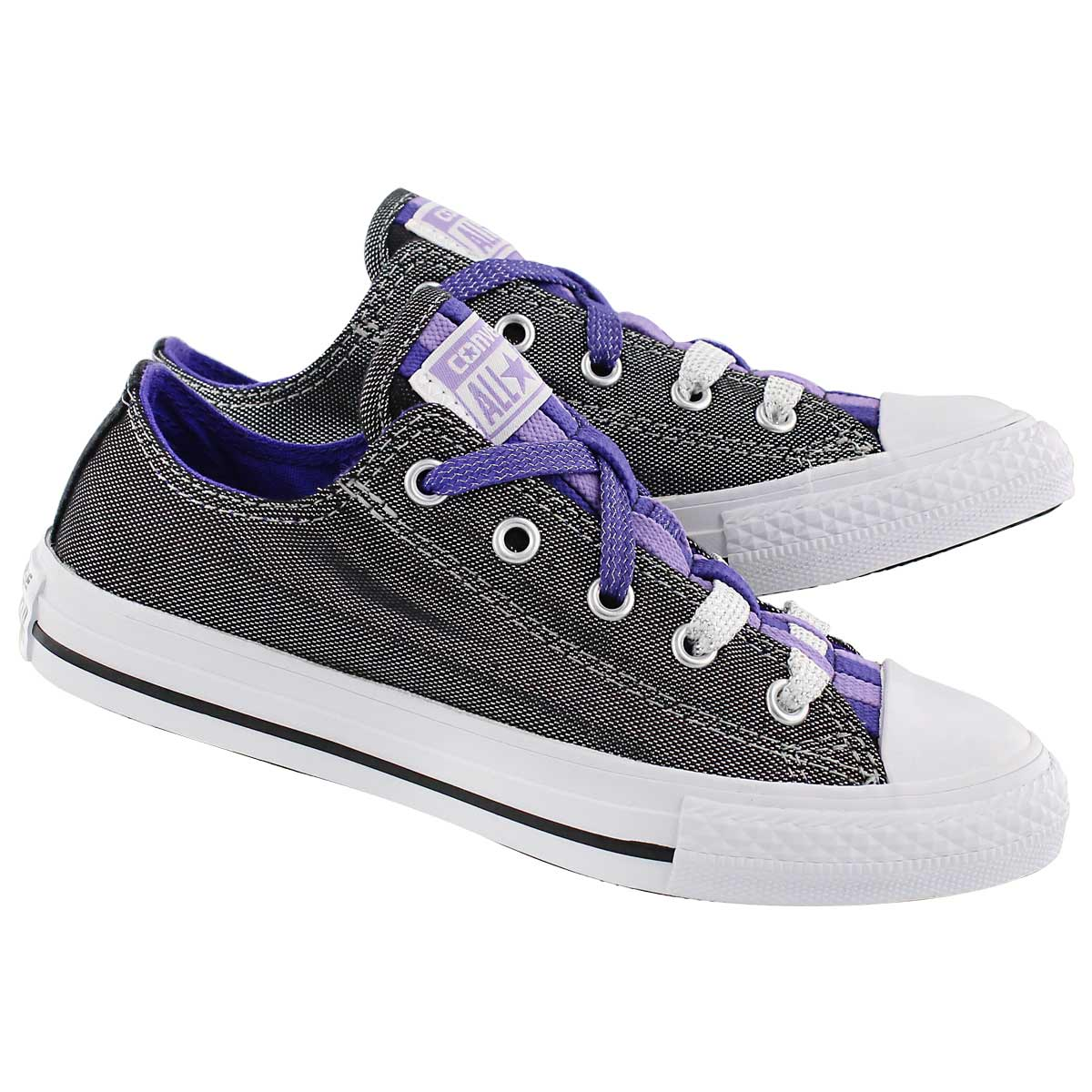 Grls CT AS Loopholes silver/grape snkr