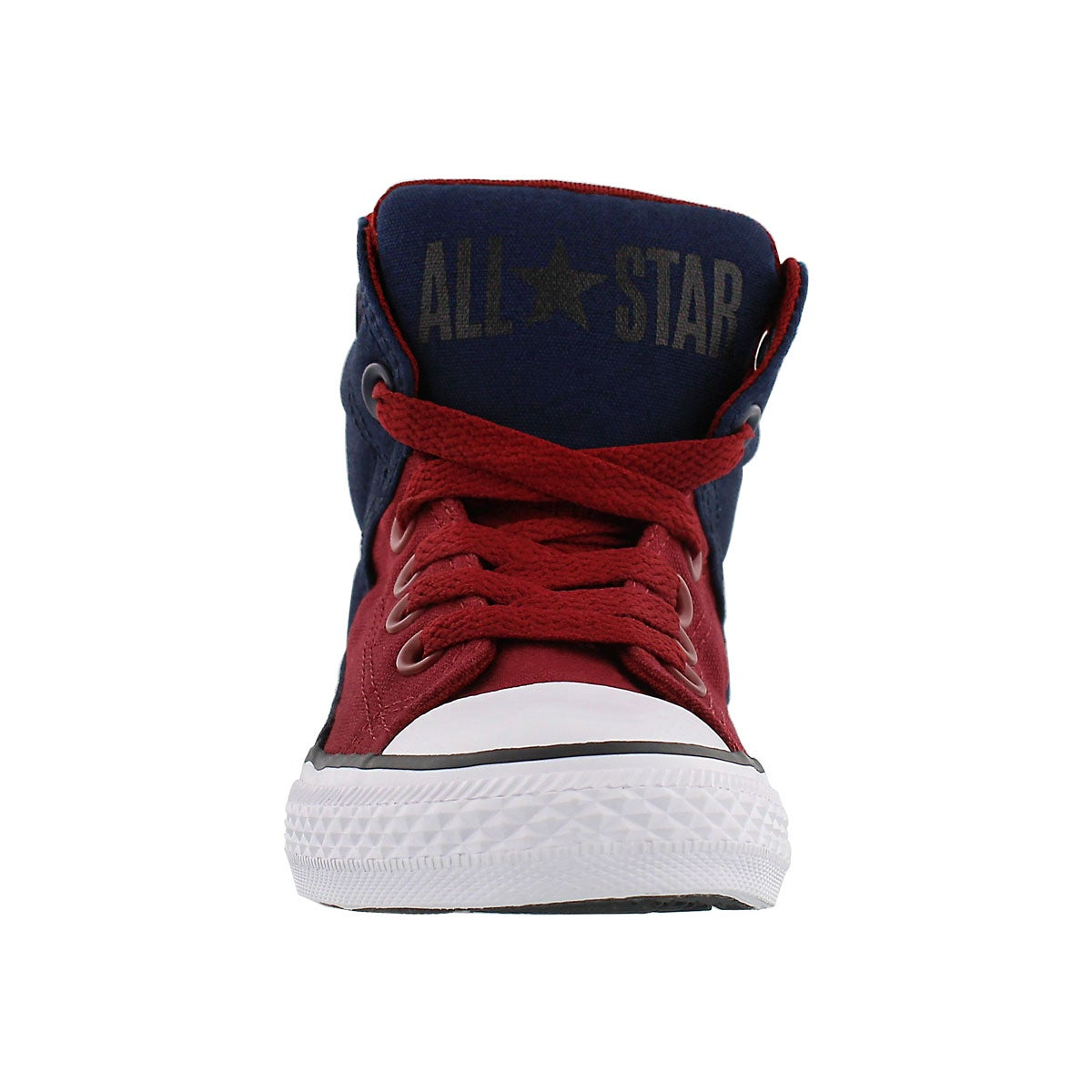 Bys HighStreetHi obsidian/red sneaker