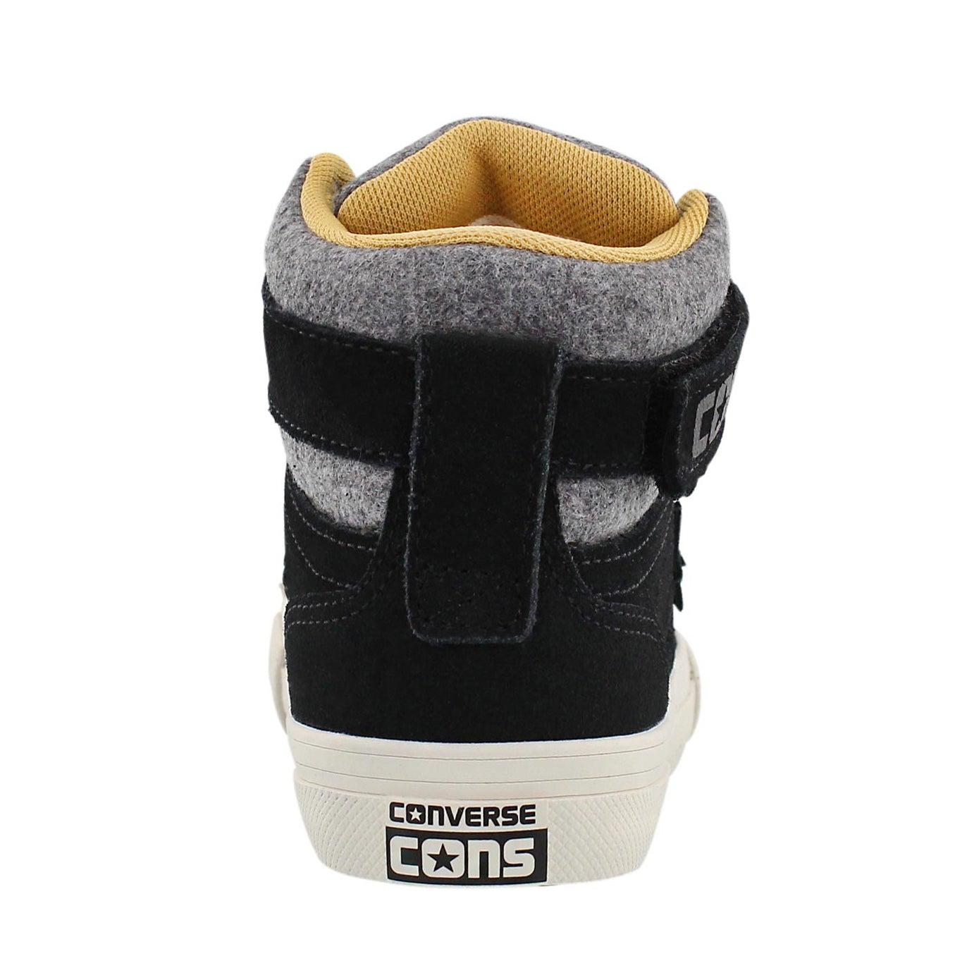 Bys Pro Blaze Strap blk hi top sneaker