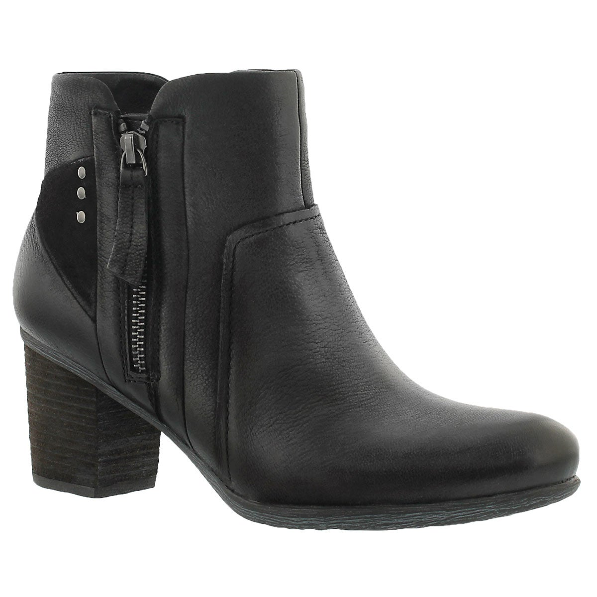 Women's BRITNEY 41 black leather ankle boots