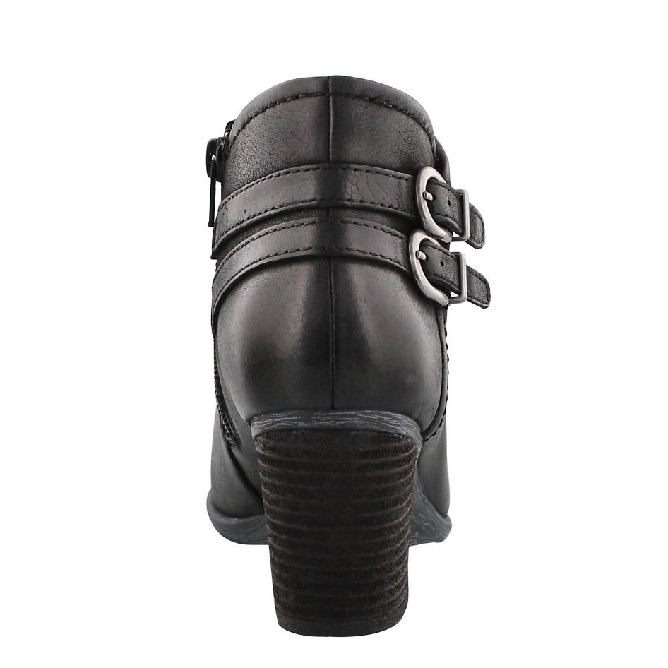 Lds Britney 47 black low dress bootie