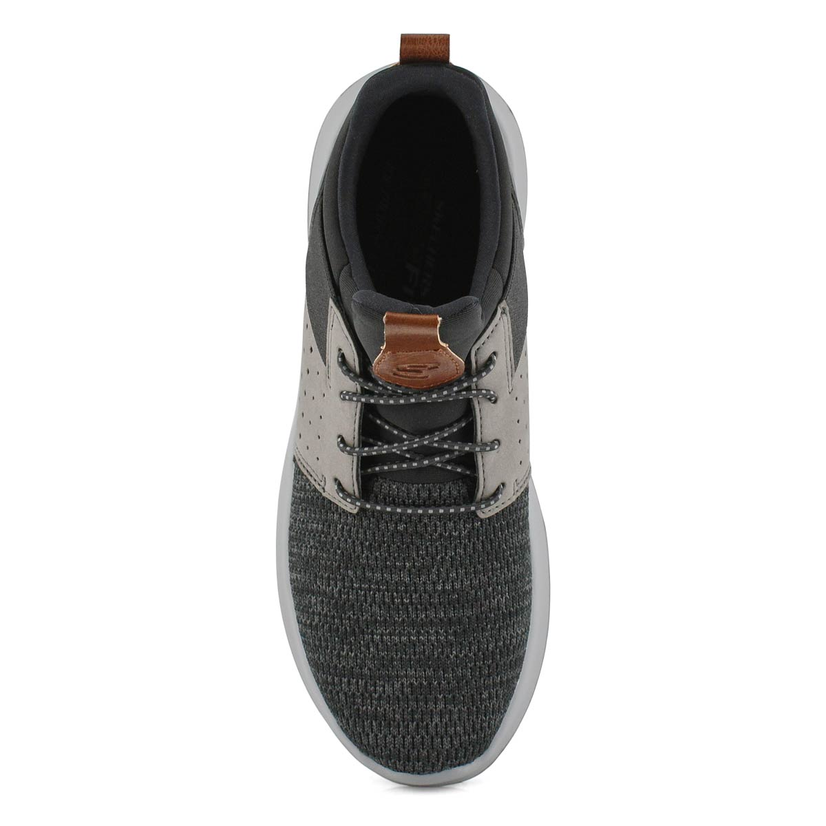Mns Delson Camben blk/gry slip on snkr