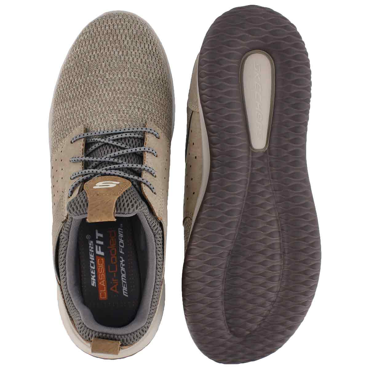 Mns Delson Camben taupe slip on snkr