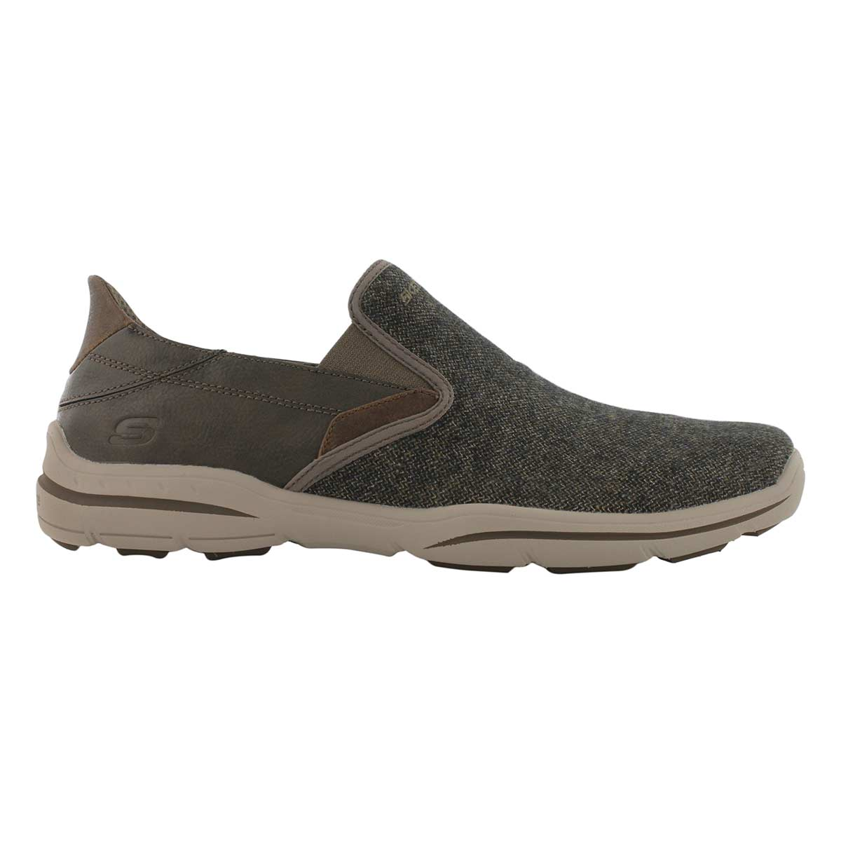 Mns Harper Trefton brn slip on shoe