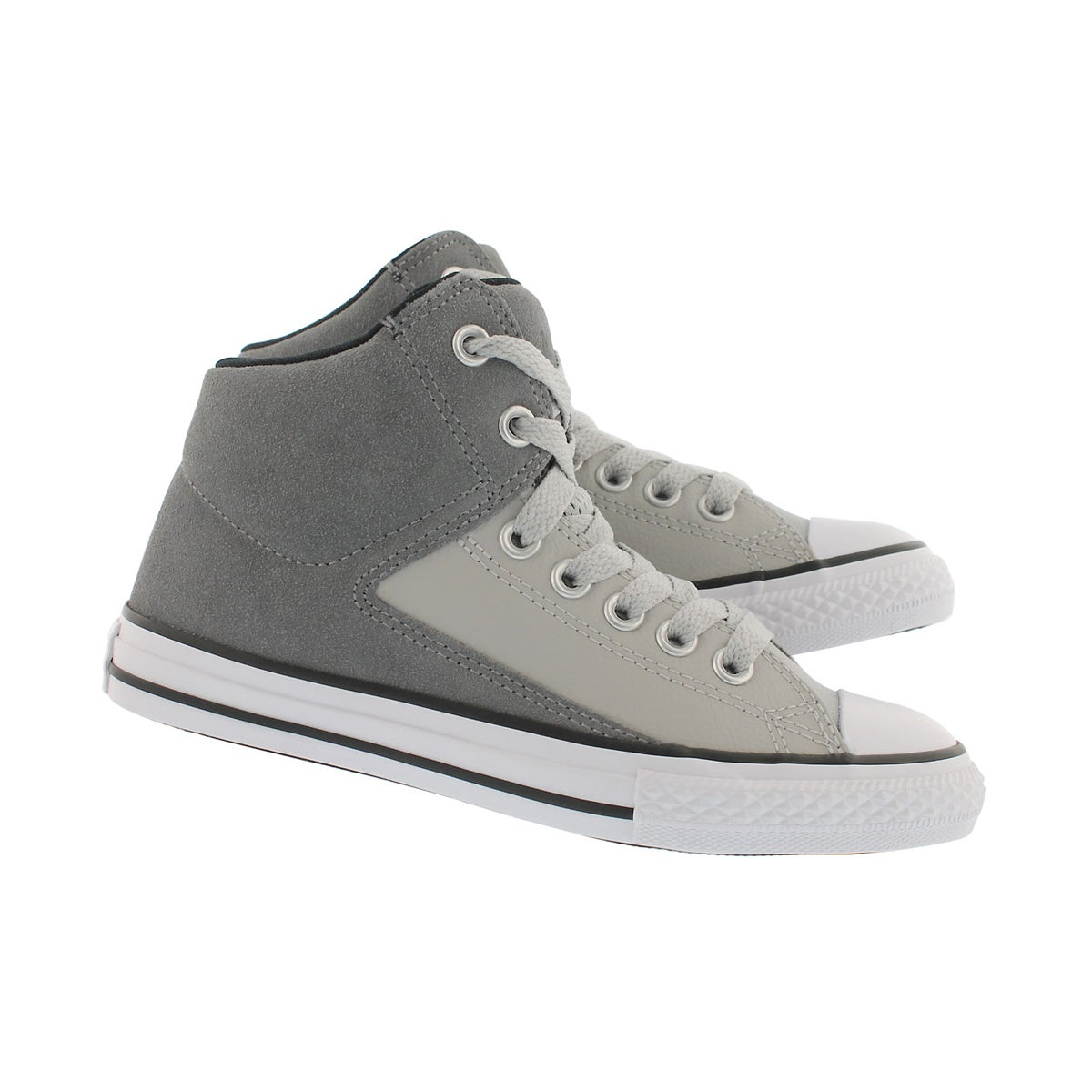 Bys CTAS HighStreet grey hi top snkr