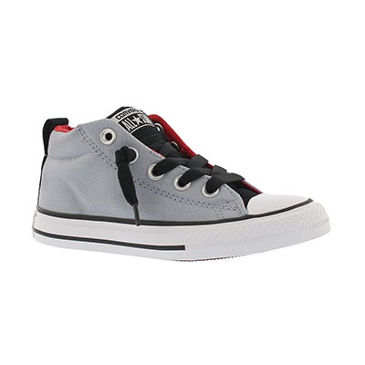Converse Boys CTAS STREET blue granite lace up sneakers