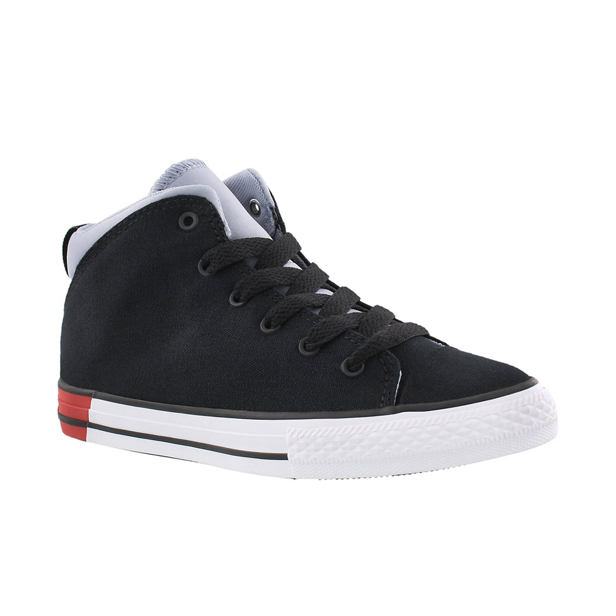 Boys' CT ALL STAR OFFICIAL blk/blu laceup sneakers