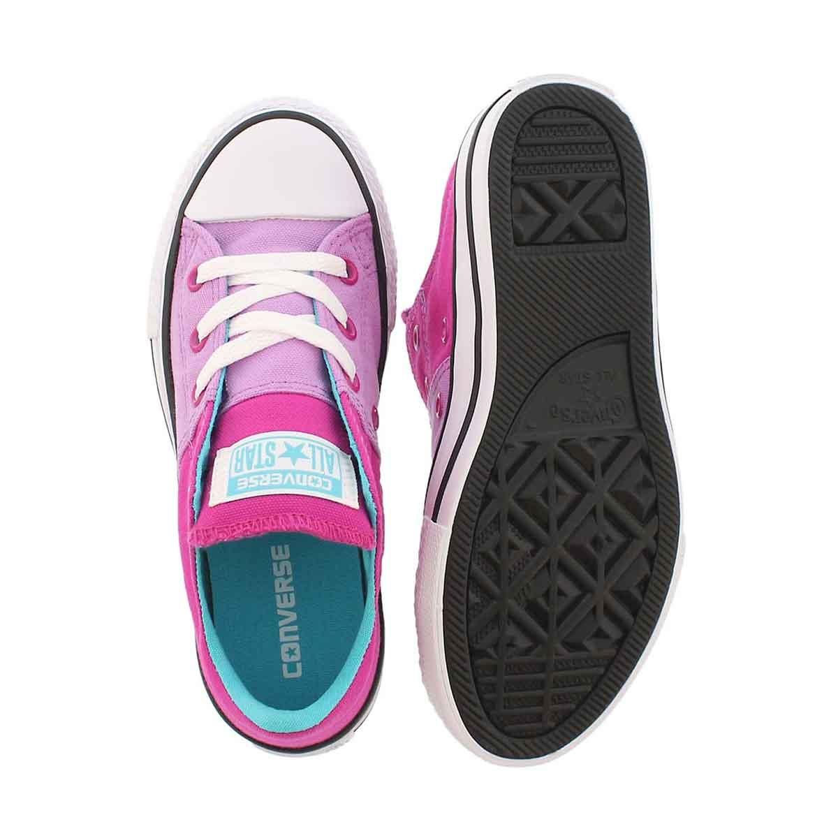 Grls CTAS Madison fuchsia/mgnta sneaker