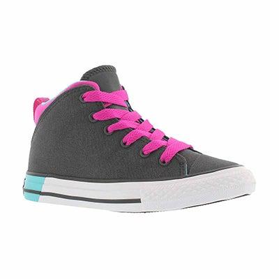 Grls CTAS Official blk/mgnta sneaker