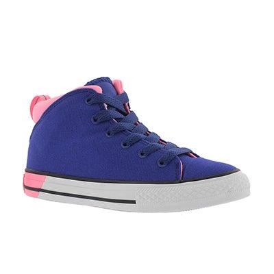 Grls CTAS Official nvy/pnk sneaker