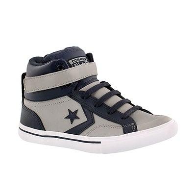 Bys Pro Blaze Hi gry/blu sneaker
