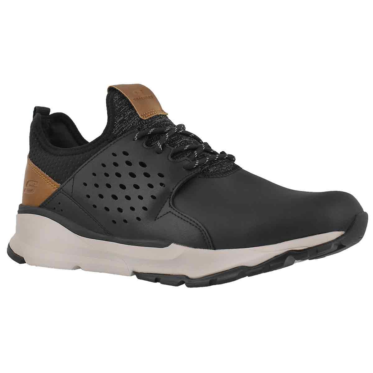 Men's RELVEN HEMSON black lace up sneakers