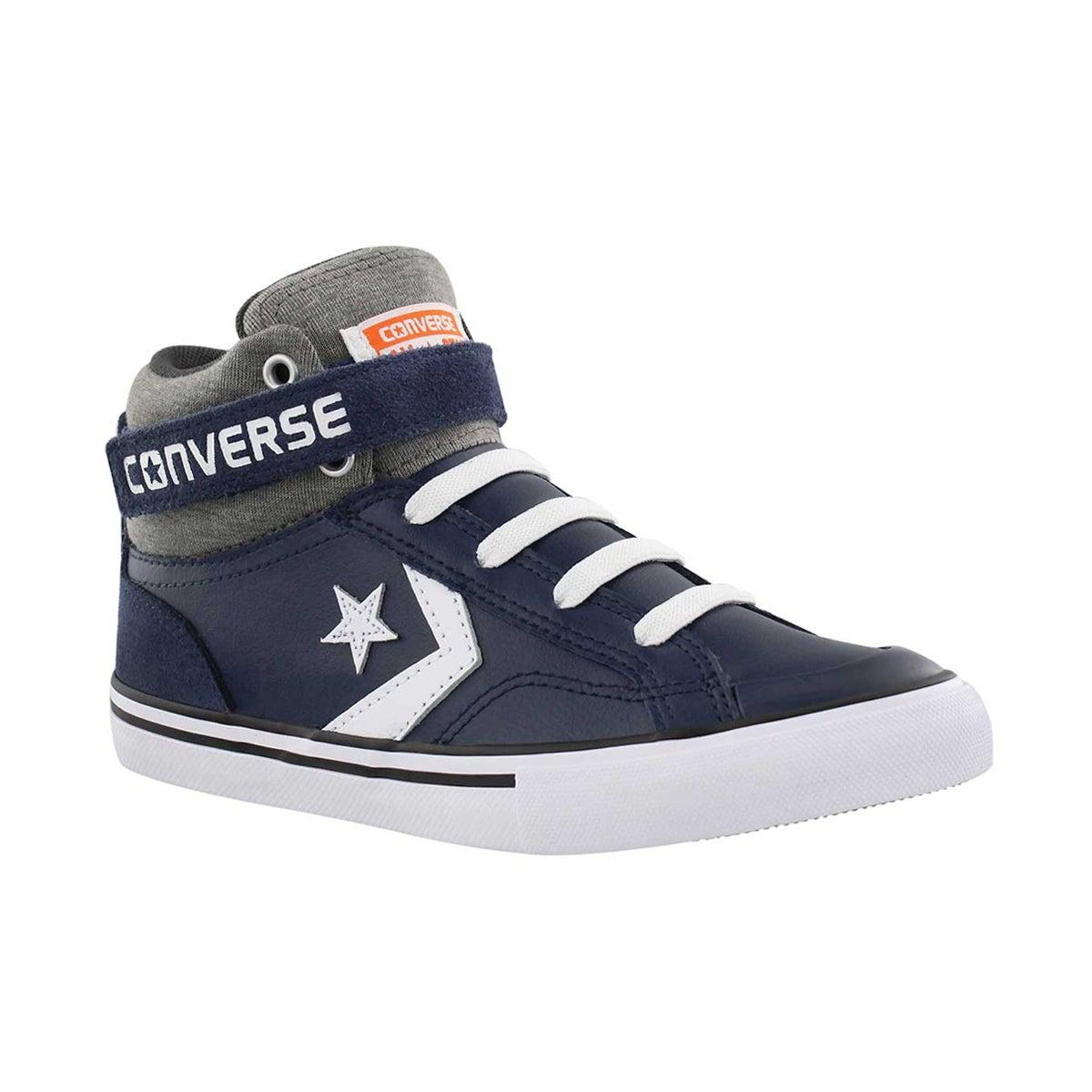 Boys' PRO BLAZE HI navy/storm sneaker
