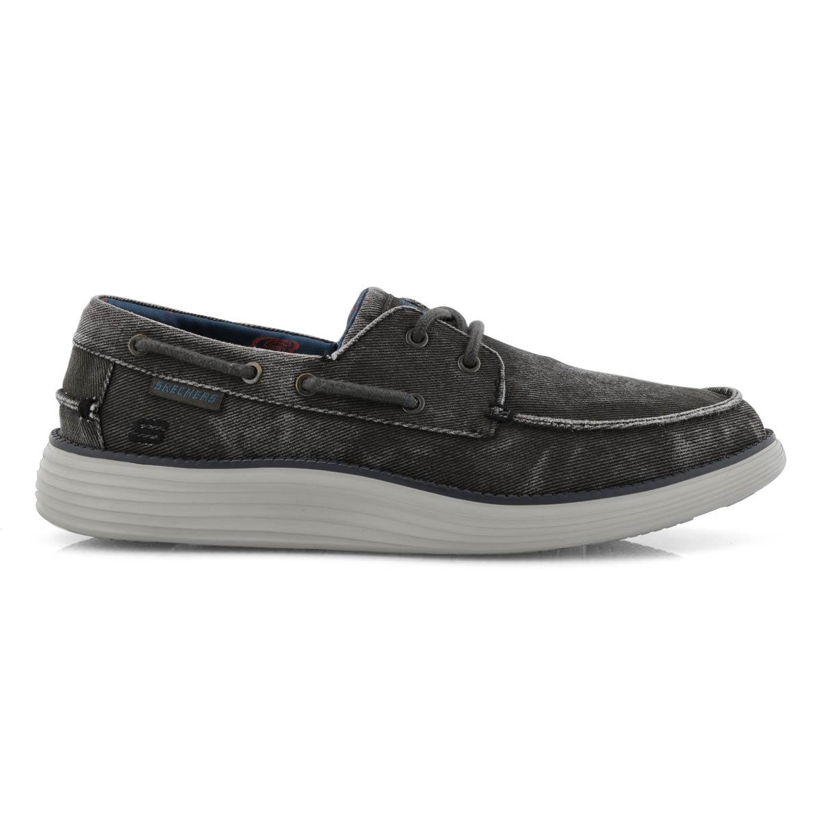 Mns Status 2.0 Lorano blk boat shoe