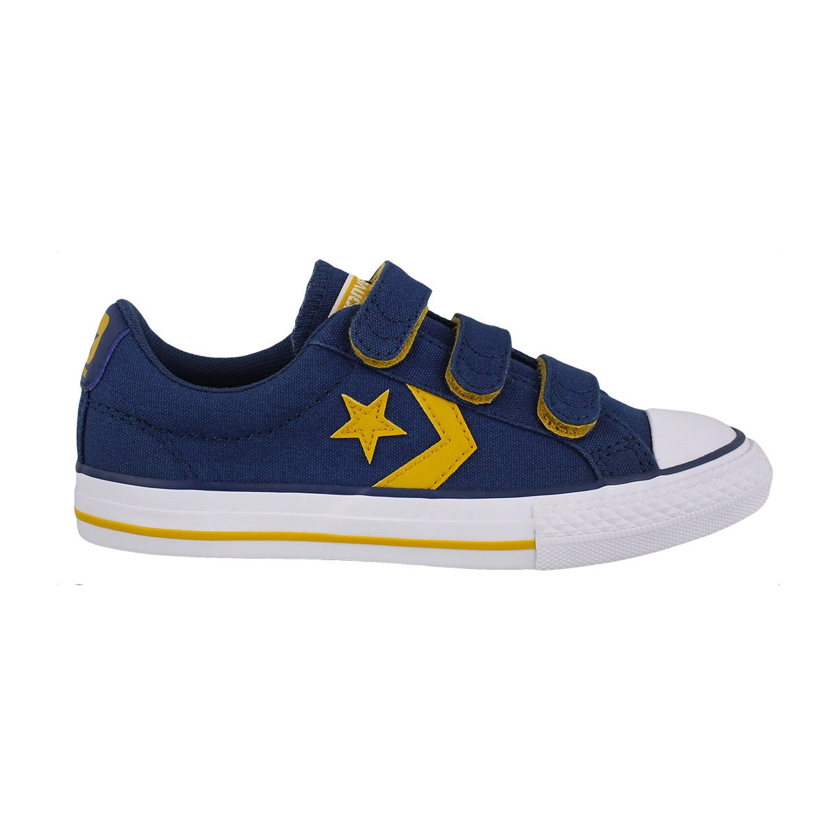 Bys Star Player 3V nvy/yllw/wht sneaker