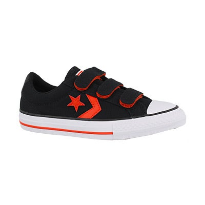 Bys Star Player 3V blk/red/wht sneaker