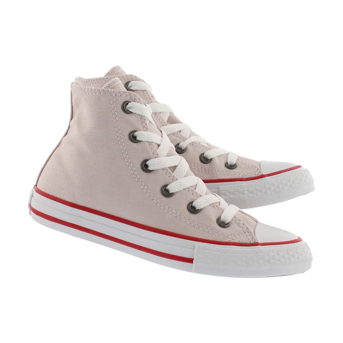 Grls CTAS Seasonal rose/red/wht high top