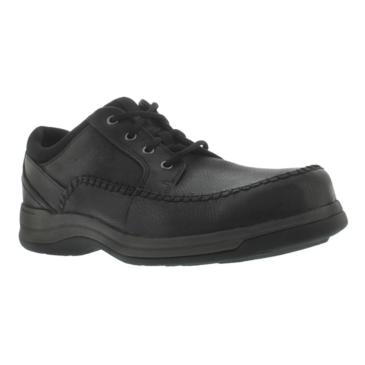Men's PORTLAND2 TIE black comfort oxfords - Wide
