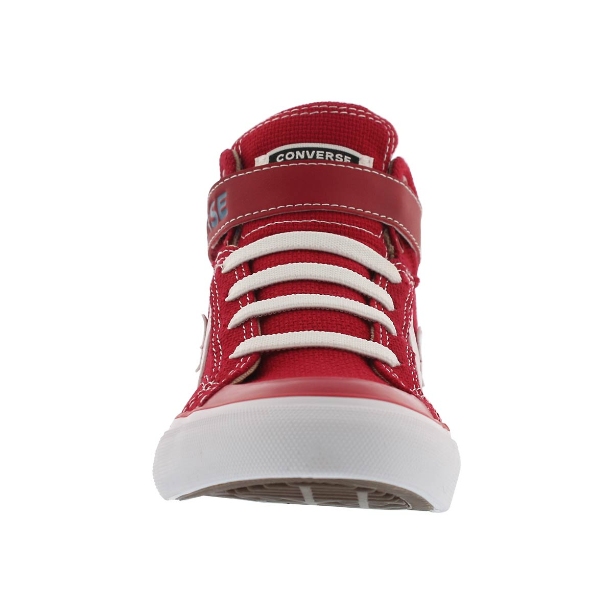 Bys Pro Blaze Strap red hi top sneaker