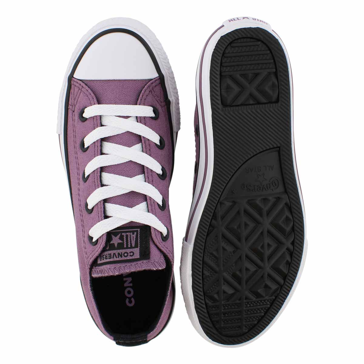 Grls CTAS Seasonal violet dust sneaker